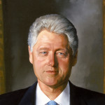 Bill Clinton Portrait