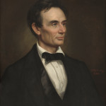 George Peter Alexander Healy (American, 1813 - 1894 ), Abraham Lincoln, 1860, oil on canvas, Corcoran Collection (Museum Purchase, Gallery Fund) 2014.79.22