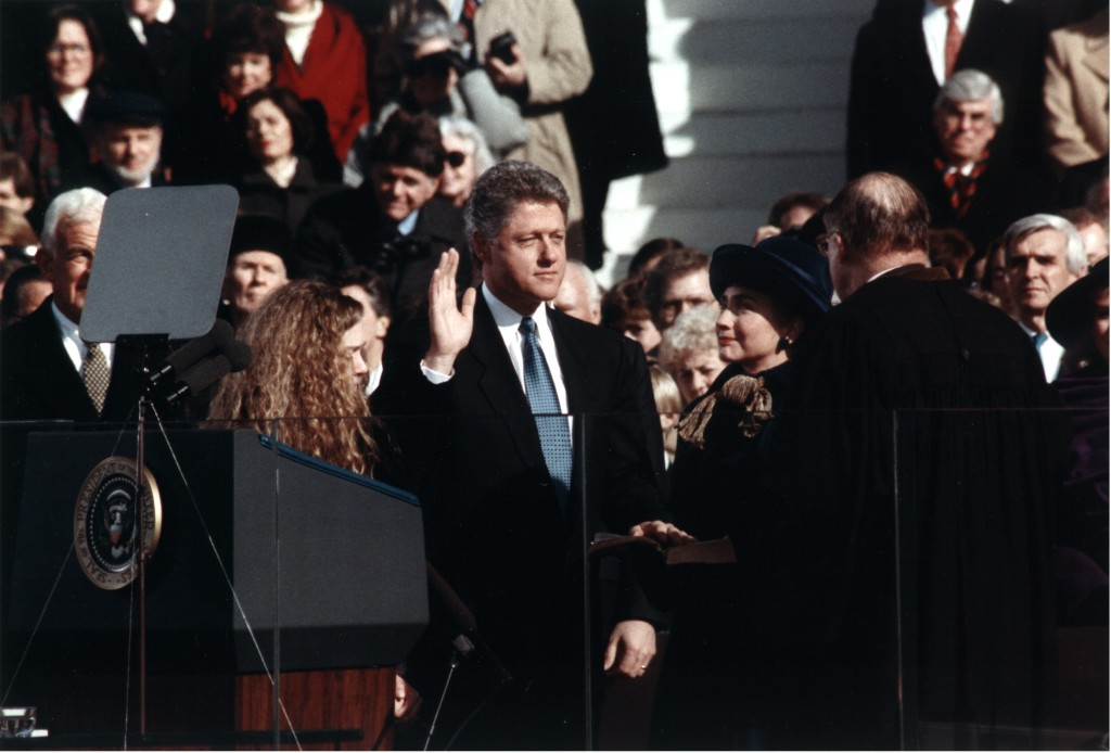 Bill Clinton 1993Inaug1.23.16