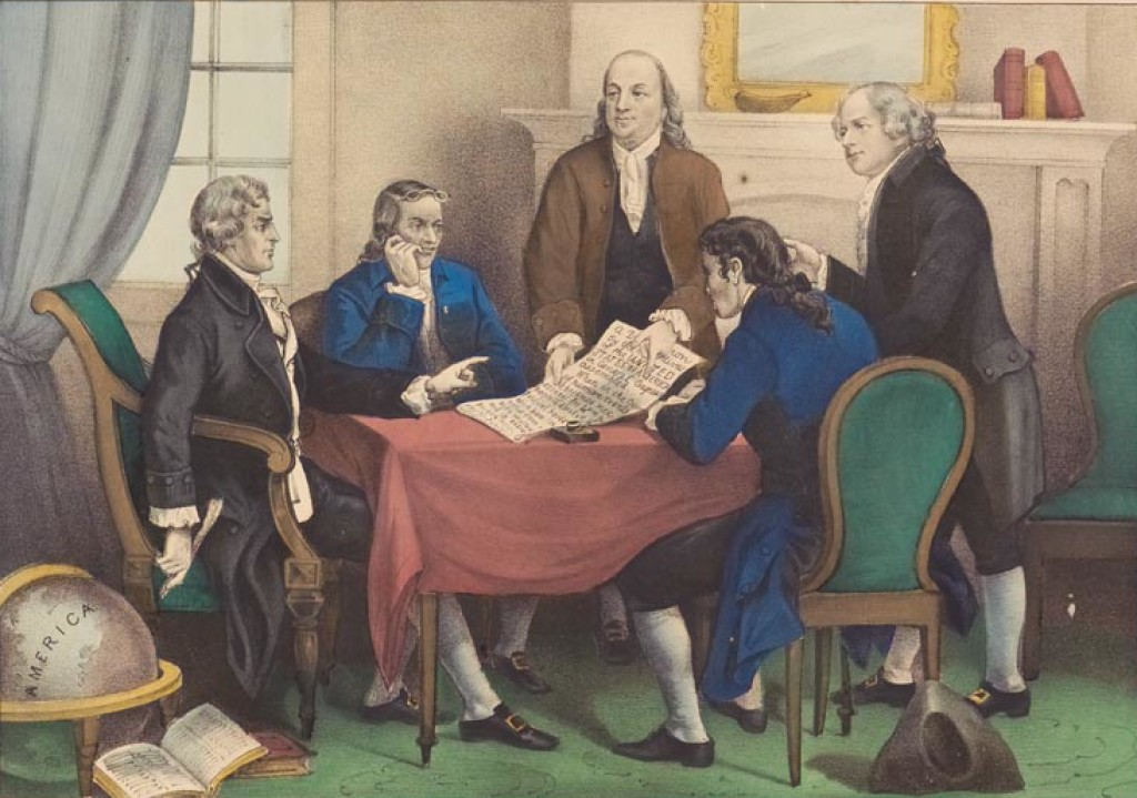 thomas jefferson writing the declaration of independence Almost everyone knows that thomas jefferson wrote the declaration of  independence however, did you know that, like most people who write  something, he.