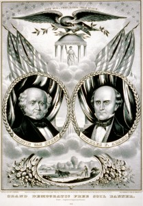 Free Soil Campaign Banner 1848