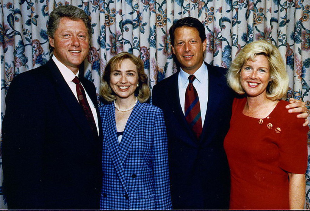 Clinton and Gore 2.11.16