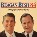 Reagan: Bush 1984 Poster
