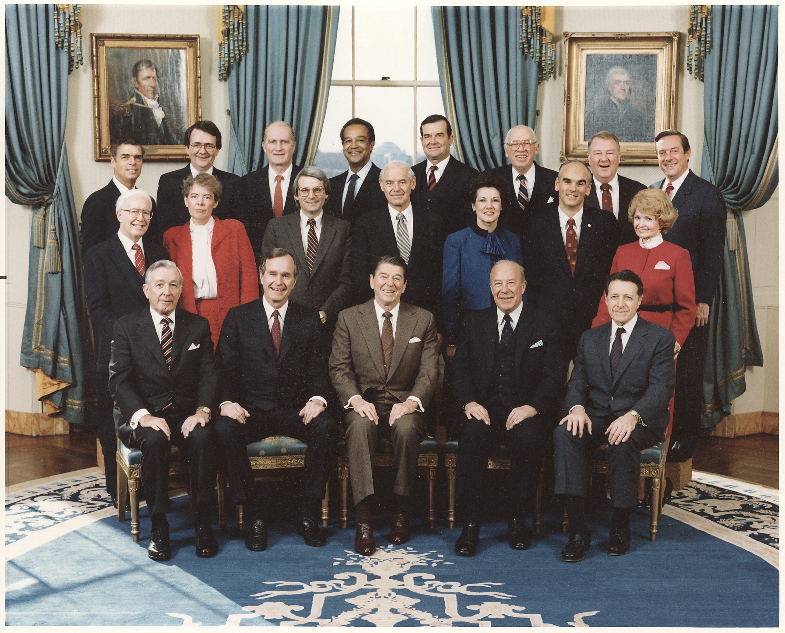 Cabinet Members During Clinton Administration - azontreasures.com